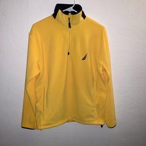 Nautica Unisex Zip Up Pullover Fleece